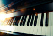 songwriting on piano